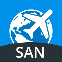 San Diego Travel Guide with Offline Street Map