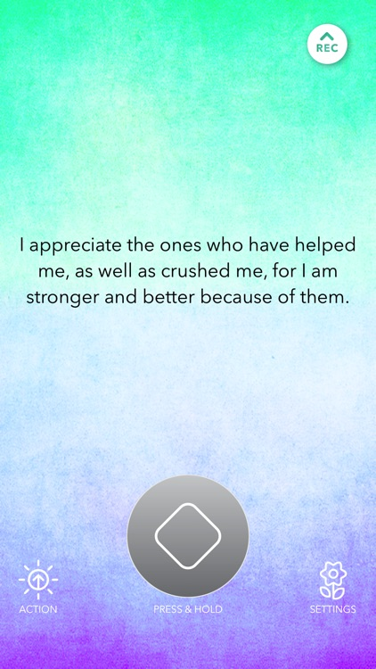 Unique Daily Affirmations screenshot-1