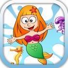Mermaid And Friend Kids Memory icon