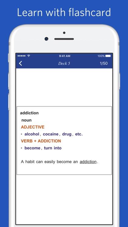 Dictionary of English Collocations screenshot-4