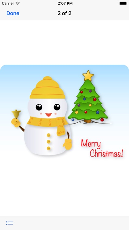 Little Snowman - Christmas Holiday Emoji screenshot-4