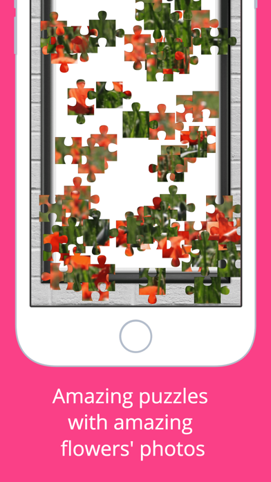 Flowers Puzzle - Play with your favorite flowers screenshot four
