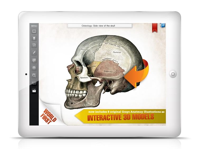 Gray's Anatomy Premium for iPad