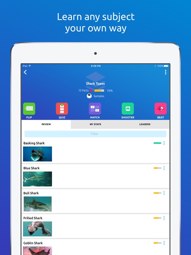 Memorang: Flashcards & Quizzes on the App Store