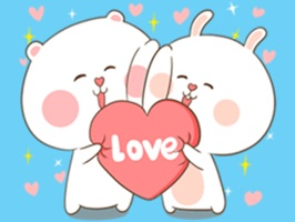 Bear and Rabbit Love