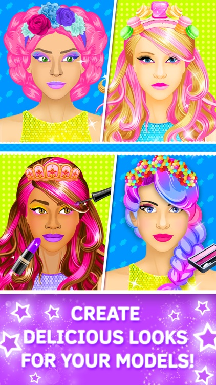 Candy Salon: Makeover Games for Girls