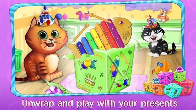 Kitty Cat Birthday Surprise: Care, Dress Up & Play screenshot-4