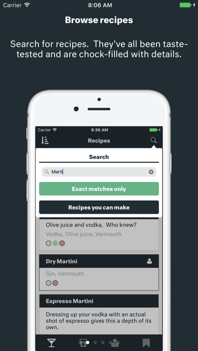 Barback - The Best Drink and Cocktail Recipes Screenshot