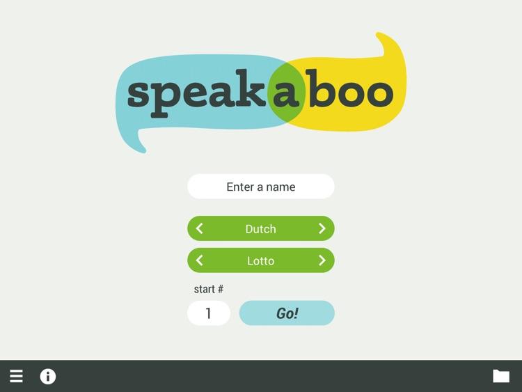 Speakaboo