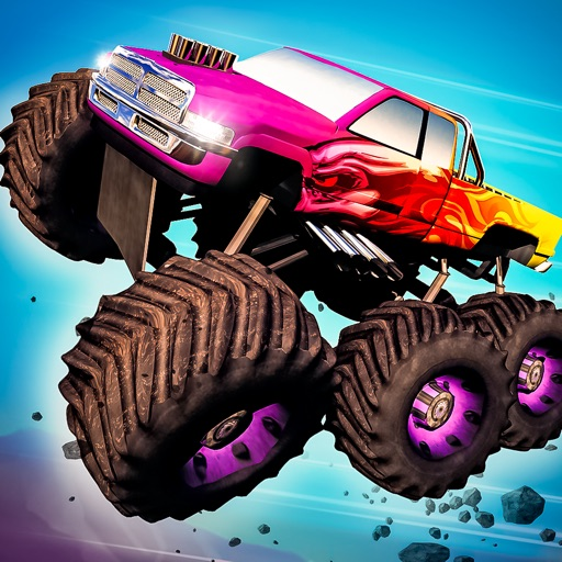 Download Real Monster Truck Heroes free for iPhone, iPod and iPad