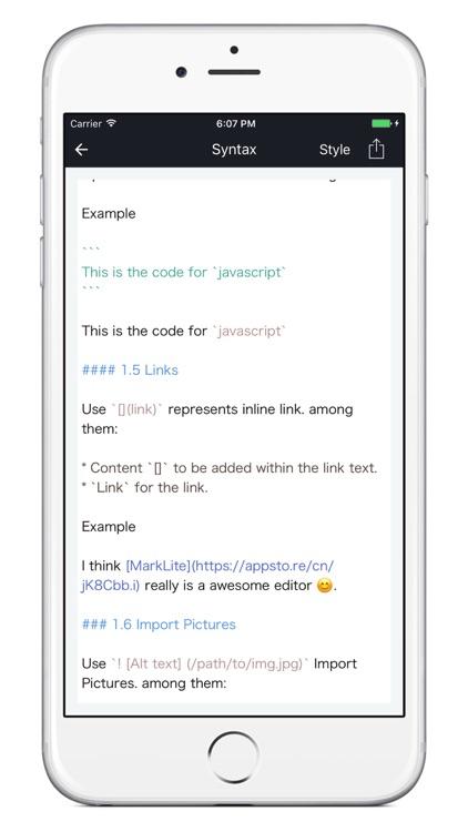 MarkLite-A delicate markdown editor