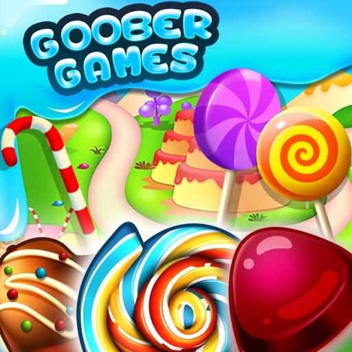 Goober Candy Craze! Match-3! iOS App