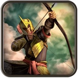 Archery bow boscage: shoot arrow against enemy