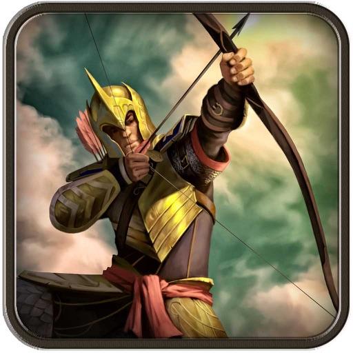 Archery bow boscage: shoot arrow against enemy iOS App
