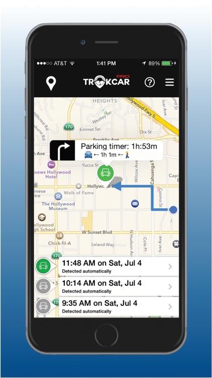 TrakCar Pro - Find Car, Where parked, Parking Time screenshot-3