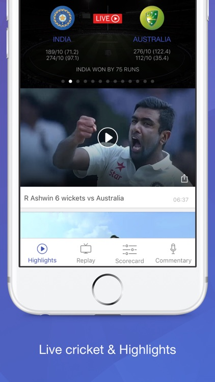 Willow TV - Watch Live Cricket & Highlights app image