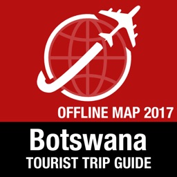 Botswana Tourist Guide + Offline Map