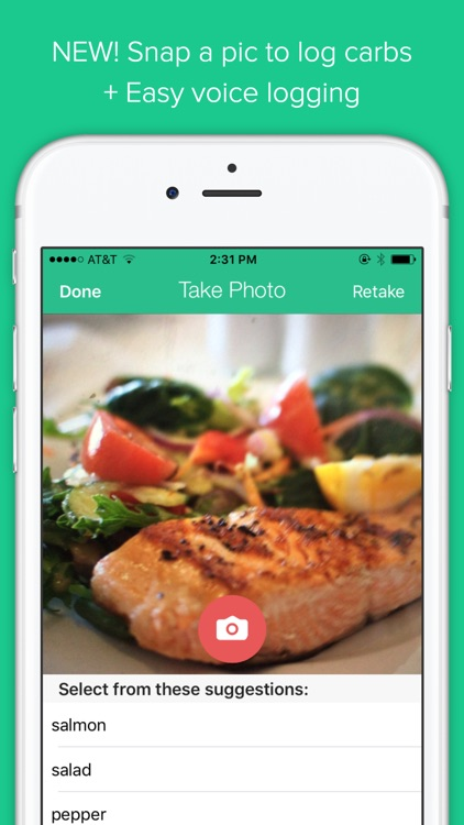 Low Carb Diet Tracker PRO by Carb Manager app image