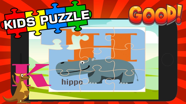 ABC Alphabet Puzzle-Preschool Jigsaw Game For Kid