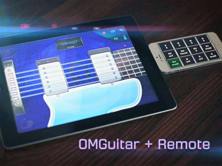 OMGuitar - Digital Guitar with FX and Autoplay screenshot-2