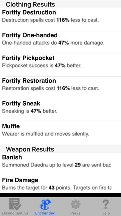 Enchanting for Skyrim ® screenshot-4