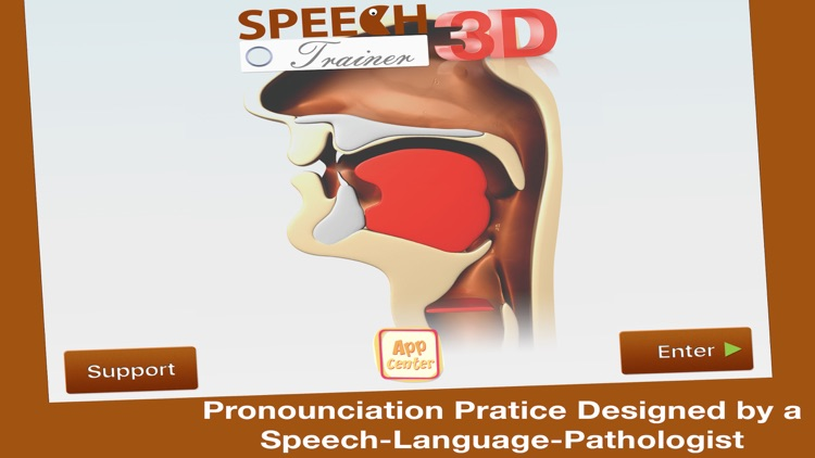 Speech Trainer 3D