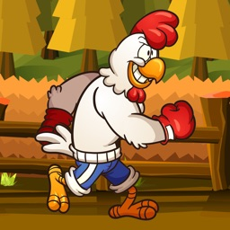 Boxing Chicken Running Games - run and jump game