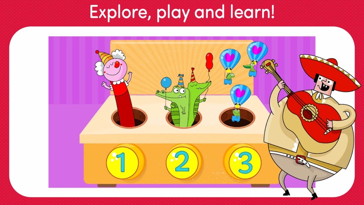 Educational preschool learning games for kids FREE screenshot-3