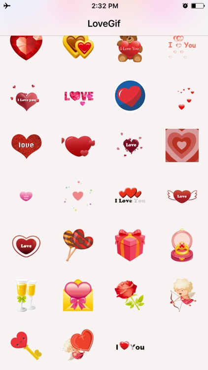 Pink Love Sticker for iMessage
