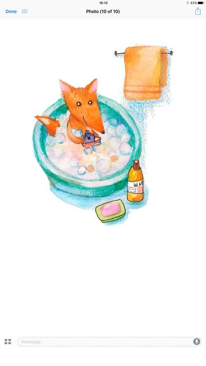 Baby Fox! Stickers