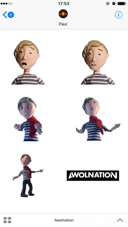 Awolnation: Sticker Pack screenshot-4