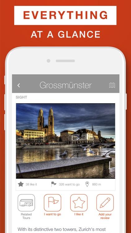 Zurich - Travel Guide & Offline Map