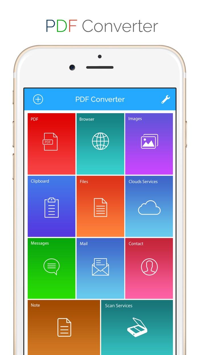 PDF Converter Documents To PDF Screenshot