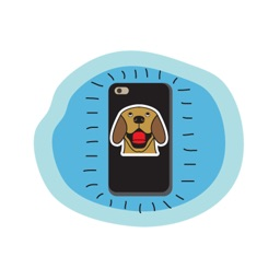 Golden Retriever Stickers for iMessage  Daily Use