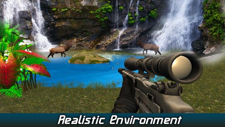 Safari Hunter 2017 Pro: Wild Deer hunting  3D screenshot-3