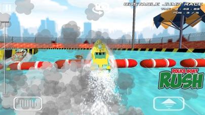警察ボートラッシュ:3D警察ボートレースのおすすめ画像5
