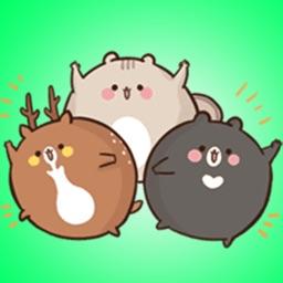 Ball Animals Stickers
