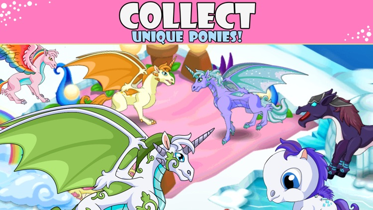 Pony City - Girls pet unicorn evolution games