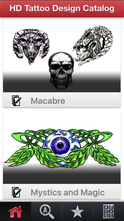 HD Tattoo Design Catalog screenshot-0
