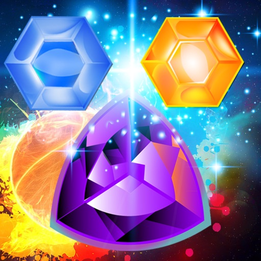 Jewel Crush Blitz : Free Match 3 Puzzle