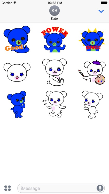 Pretty Little Bears Sticker Pack-FREE