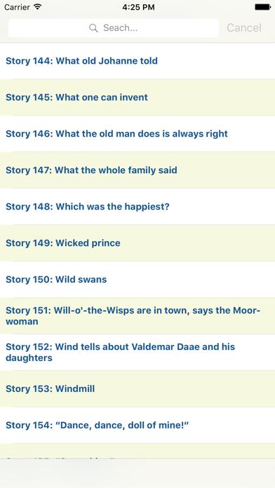 155 Audio Andersen's Fairy Tales In EnglishScreenshot of 4