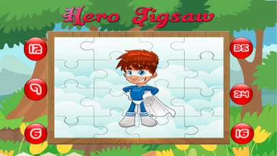 cartoon hero jigsaw puzzle