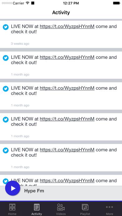 Hype Fm screenshot two