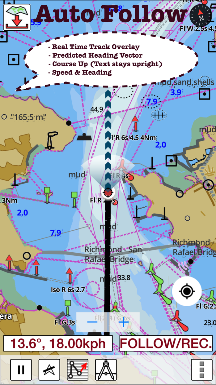 i-Boating: Marine Charts & Gps Screenshot