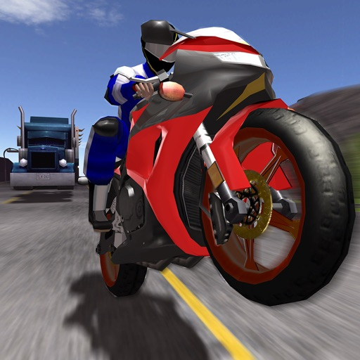 3D FPV Motorcycle Racing - VR Racer Edition
