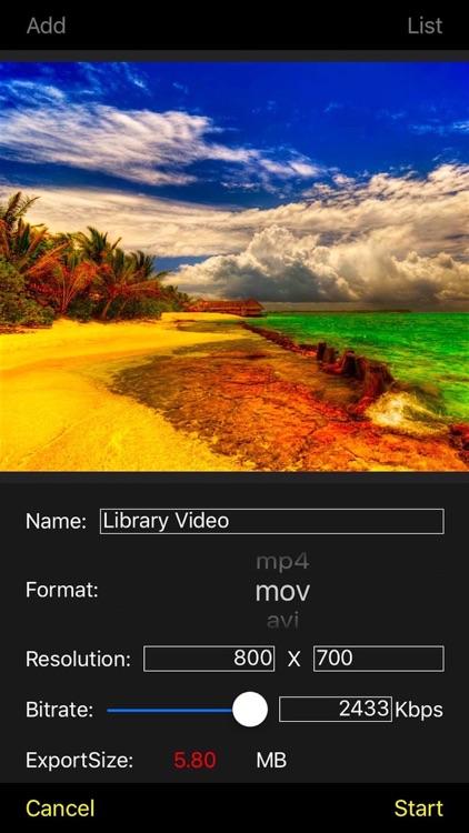Video Edit - Trim Rotate Effect Cut Editor screenshot-3