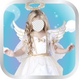 Sweet Angel Kids Photo Montage