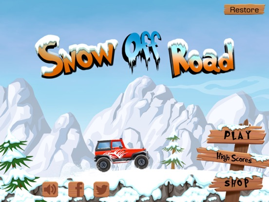 Snow Off Road -- Mountain Mud/Dirt Driving Game на iPad