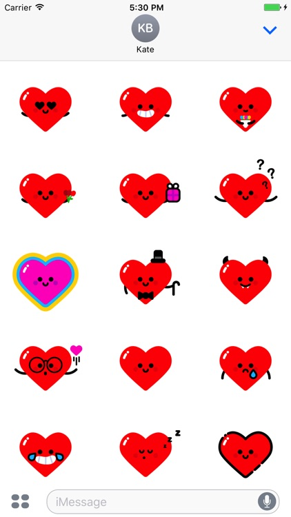 MBE Love Stickers